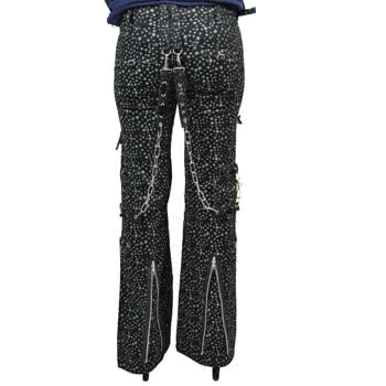 Criminal Damage Star Trousers (Grey)