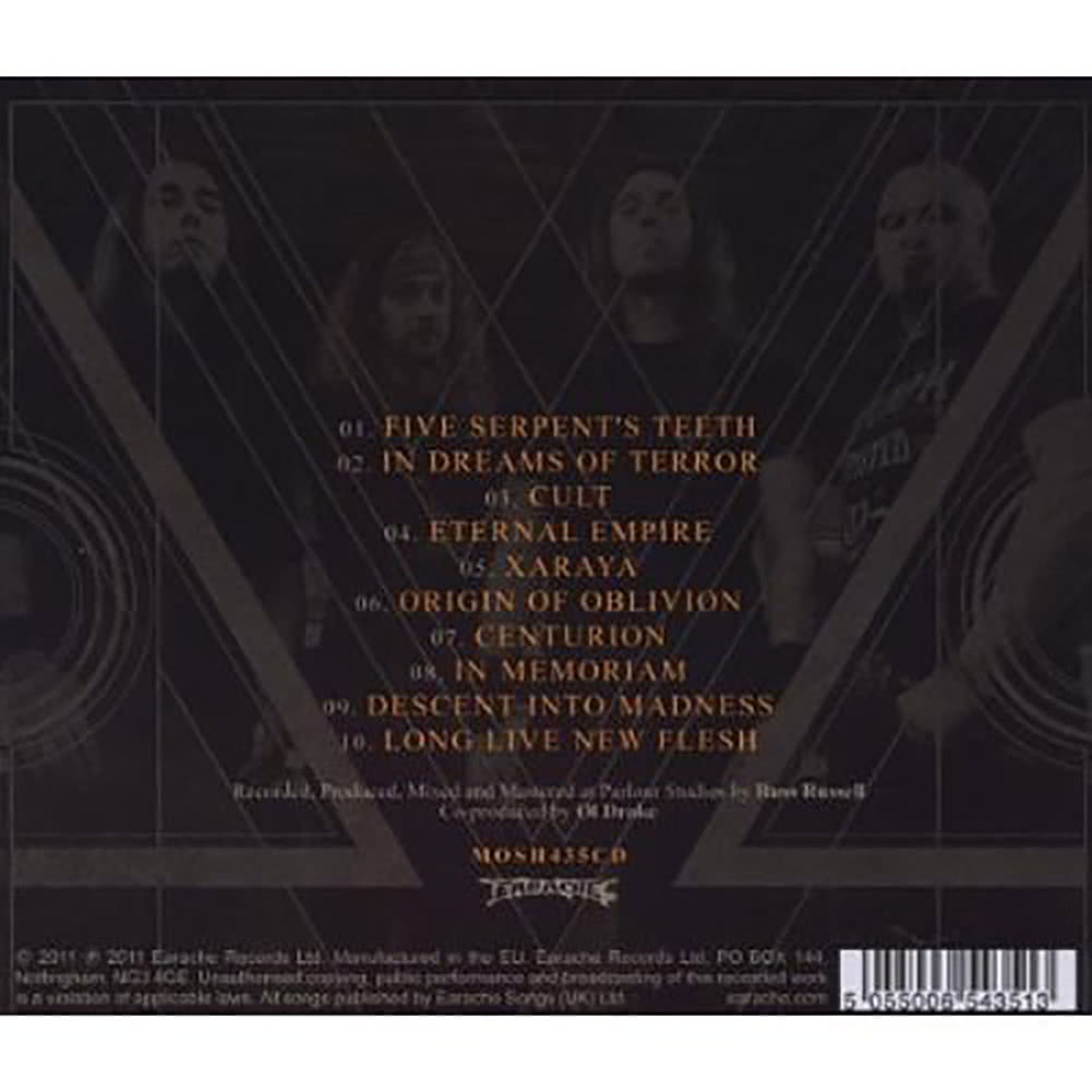 Evile Five Serpent's Teeth CD