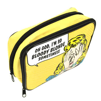 Bloody Blonde Make Up Bag