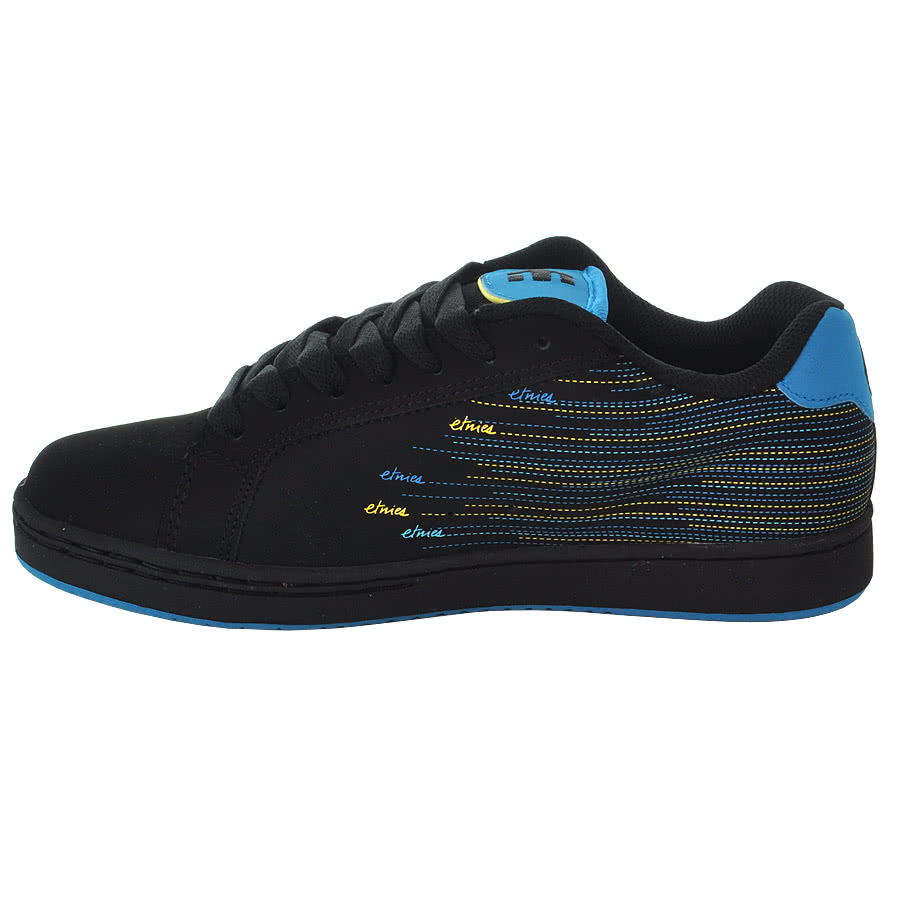 Etnies Fader Trainers (Black/Blue)