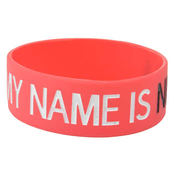Goodie Two Sleeves Hello Ninja Wristband (Red)