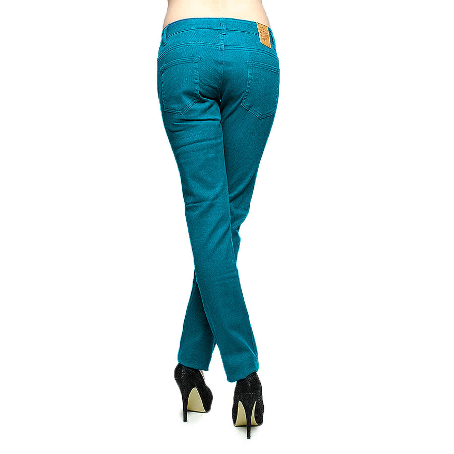 Bleeding Heart Skinny Fit Jeans (Sea Green)