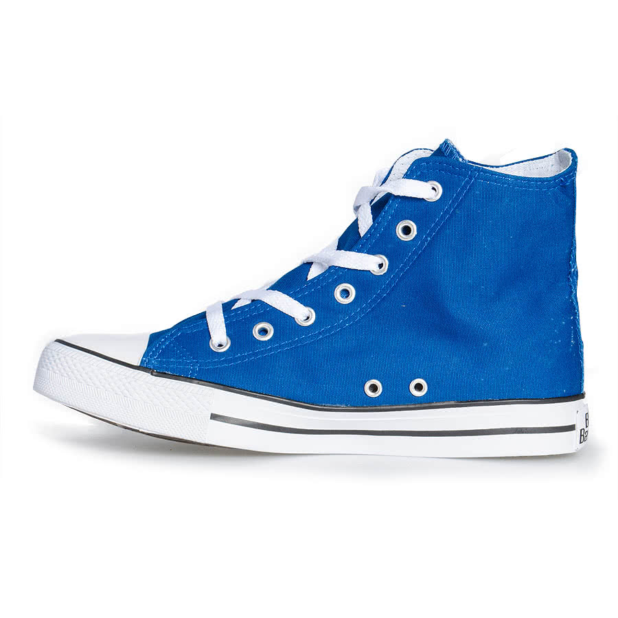 Blue Banana Canvas Boots (Blue)