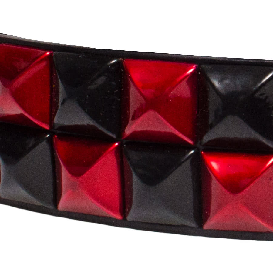 Blue Banana 2 Row Studded Belt (Red)