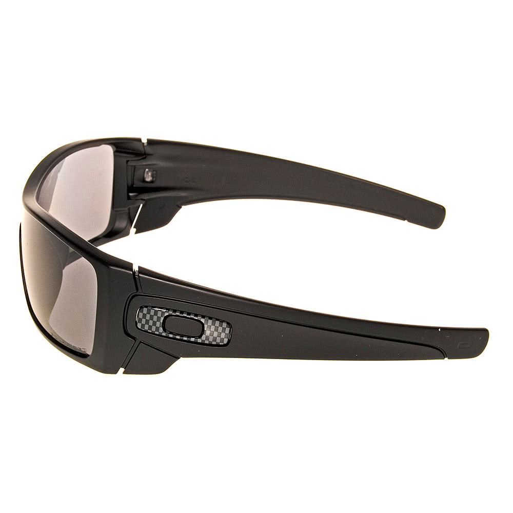 Oakley Batwolf Polished Sunglasses (Matte Black/ Grey Polarized)