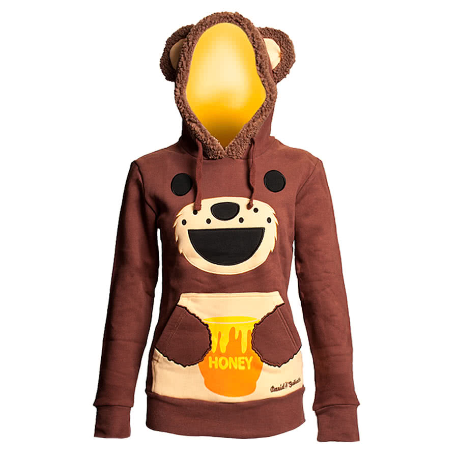 David & Goliath I Love Honey Hoodie (Brown)