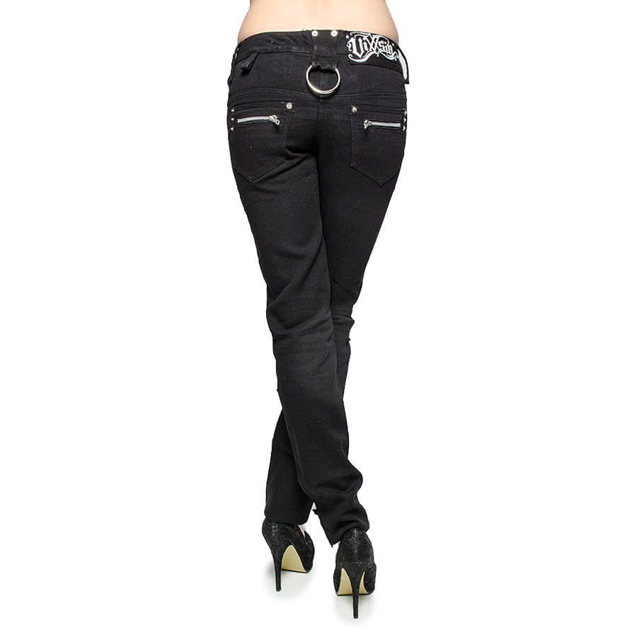 Vixxsin by Poizen Industries Roughstar Jeans (Black)