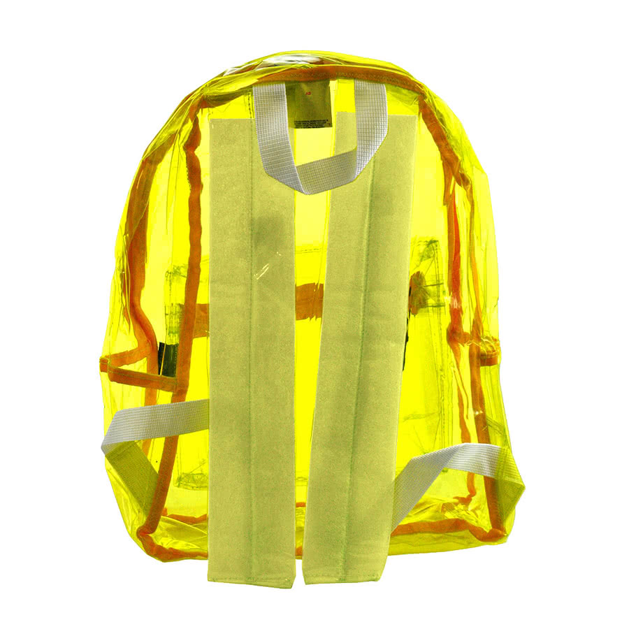 Life Spirit Clear Backpack (Yellow)