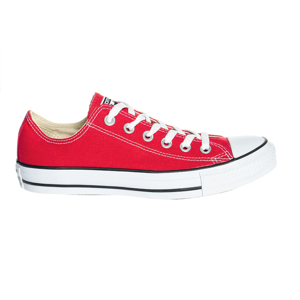 Converse Ox Shoes (Red)