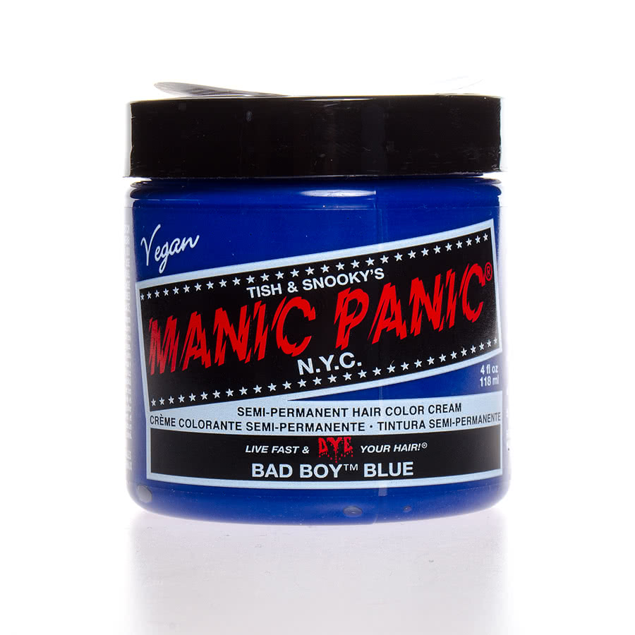 Manic Panic Classic Semi-Permanent Hair Dye 118ml (Bad Boy Blue)