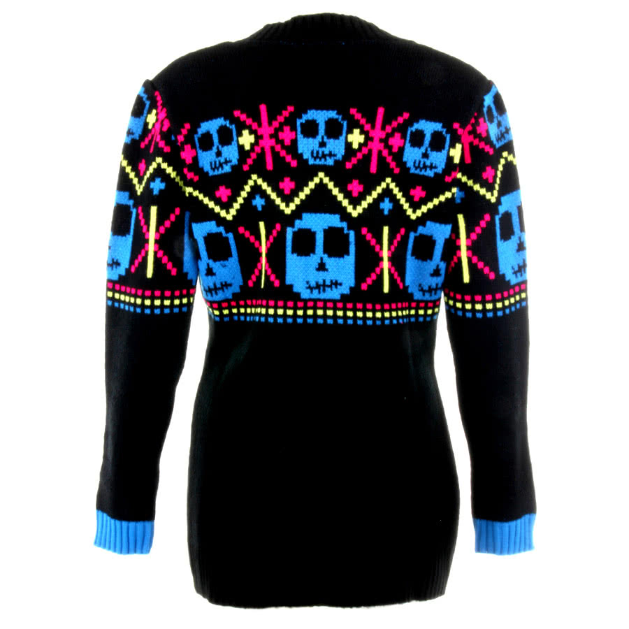 Flip Flop And Fangs Zombie Cardigan (Black)