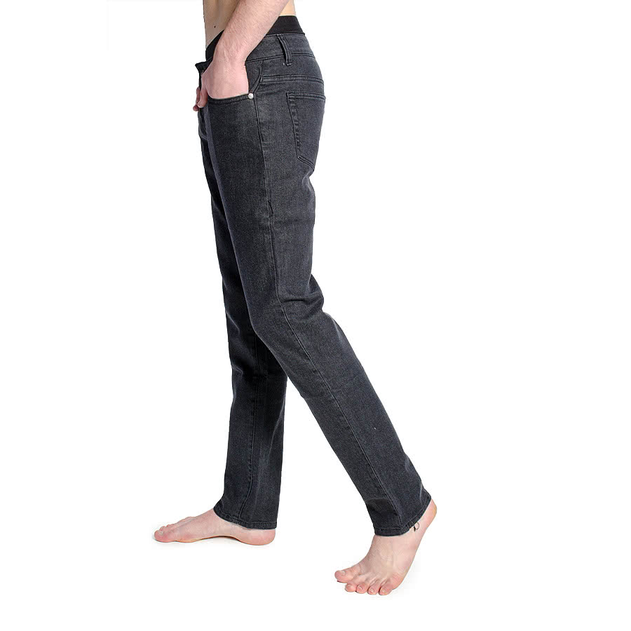 Bleeding Heart Stonewash Jeans (Black)