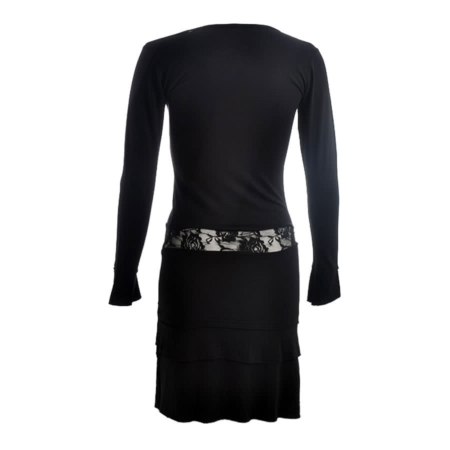 Spiral Direct Sky Angel Dress (Black)