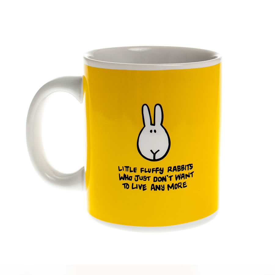 Bunny Suicides Torch Mug (Yellow)