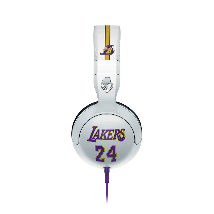 Skullcandy Hesh NBA Lakers Headphones (White)