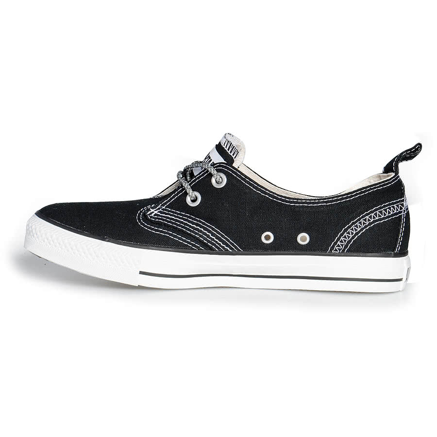 Converse All Stars Helmsman Varsity Shoes (Black)
