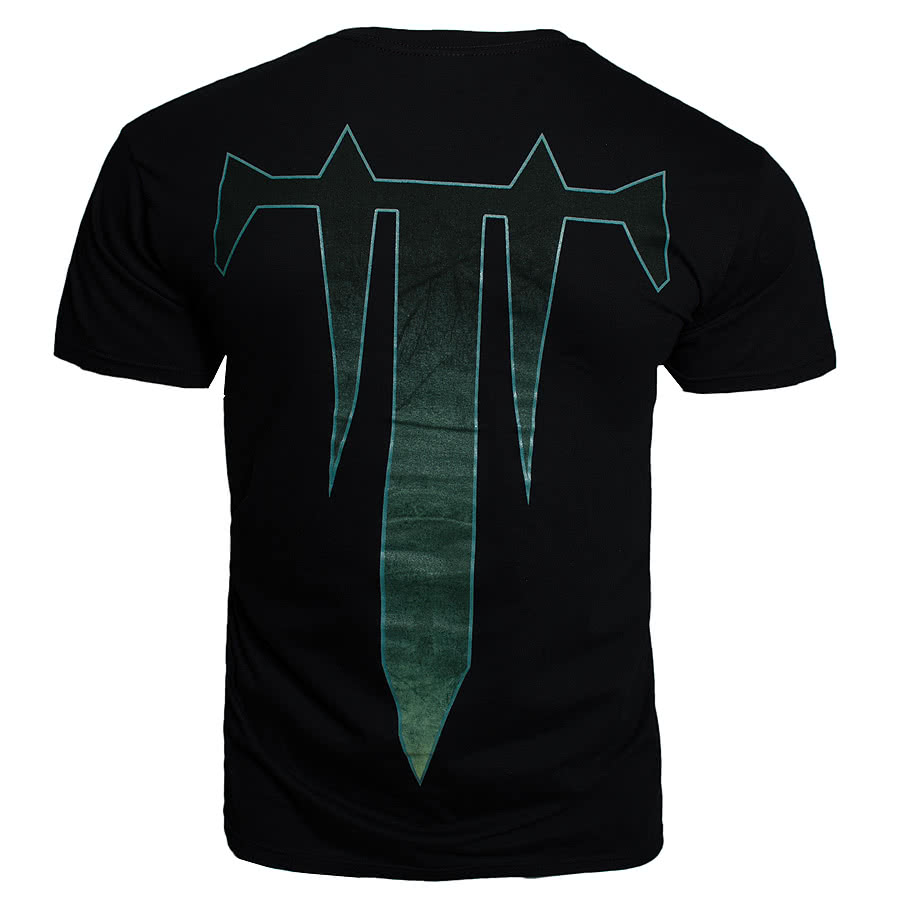 Trivium Decayed Skull T Shirt (Black)