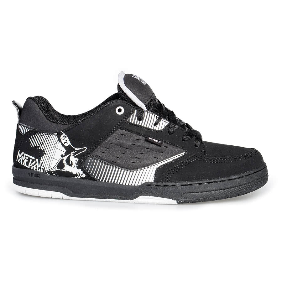Etnies Cartel Metal Mulisha Trainers (Black)
