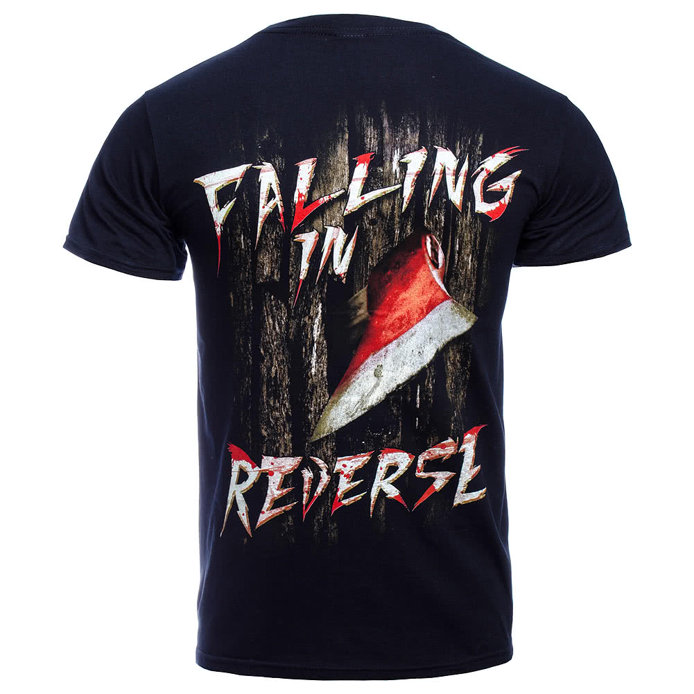 Falling In Reverse Here's Ronnie T Shirt (Black)