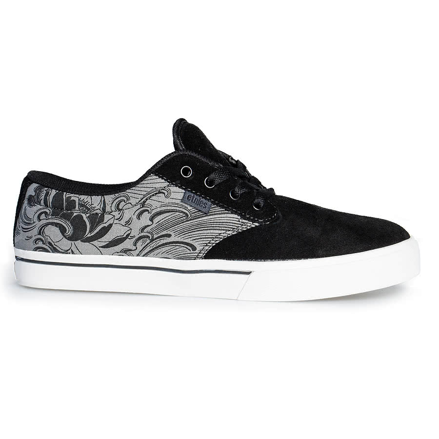 Etnies Nozaka Jameson 2 Shoes (Black/Grey)