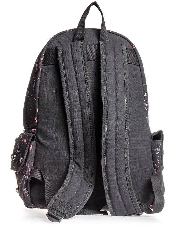 Banned Candy Skull Backpack (Black)