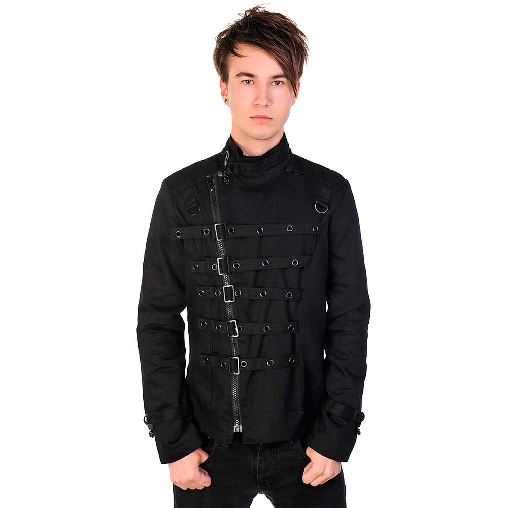 Banned Black D Ring Jacket (Black)