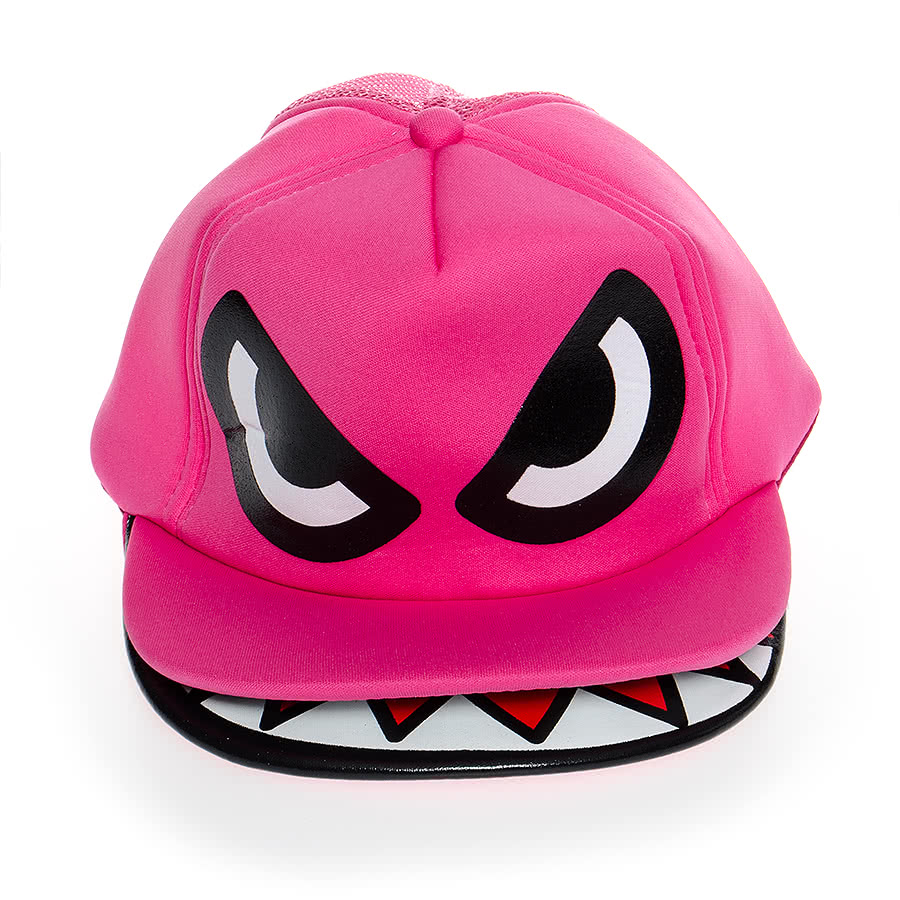 Blue Banana Monster Hat (Pink)