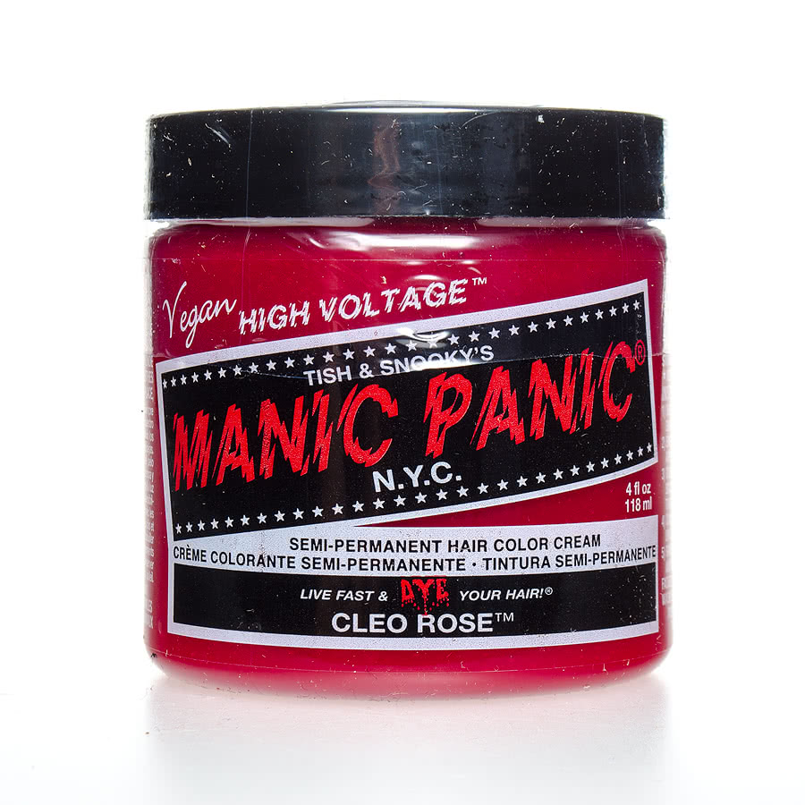 Manic Panic Classic Semi-Permanent Hair Dye 118ml (Cleo Rose)