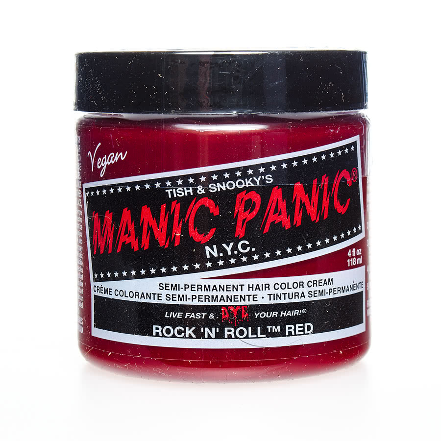 Manic Panic Classic Semi-Permanent Hair Dye 118ml (Rock N Roll Red)