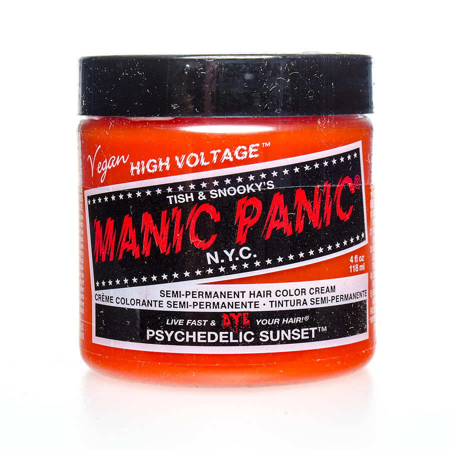 Manic Panic Classic Semi-Permanent Hair Dye 118ml (Psychedelic Sunset)