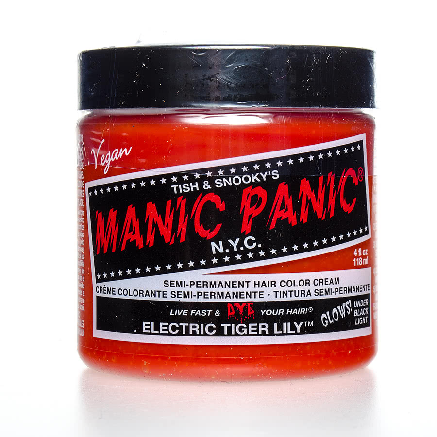 Manic Panic Classic Semi-Permanent Hair Dye 118ml (Electric Tiger Lily)