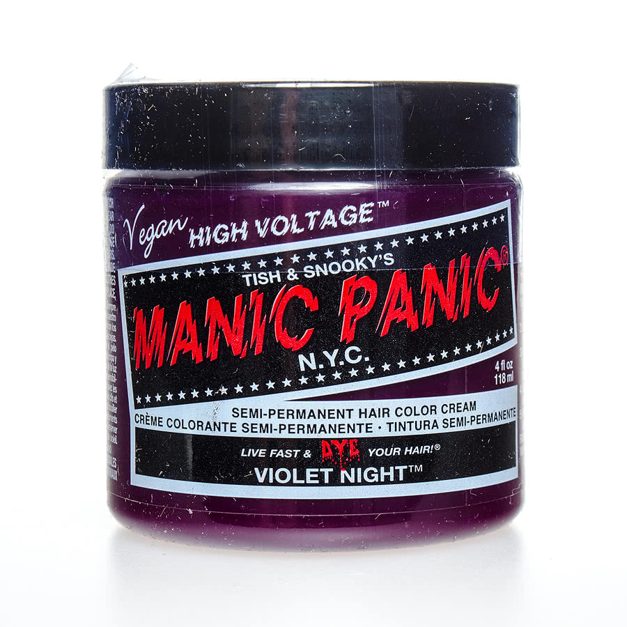 Manic Panic Classic Semi-Permanent Hair Dye 118ml (Violet Night)