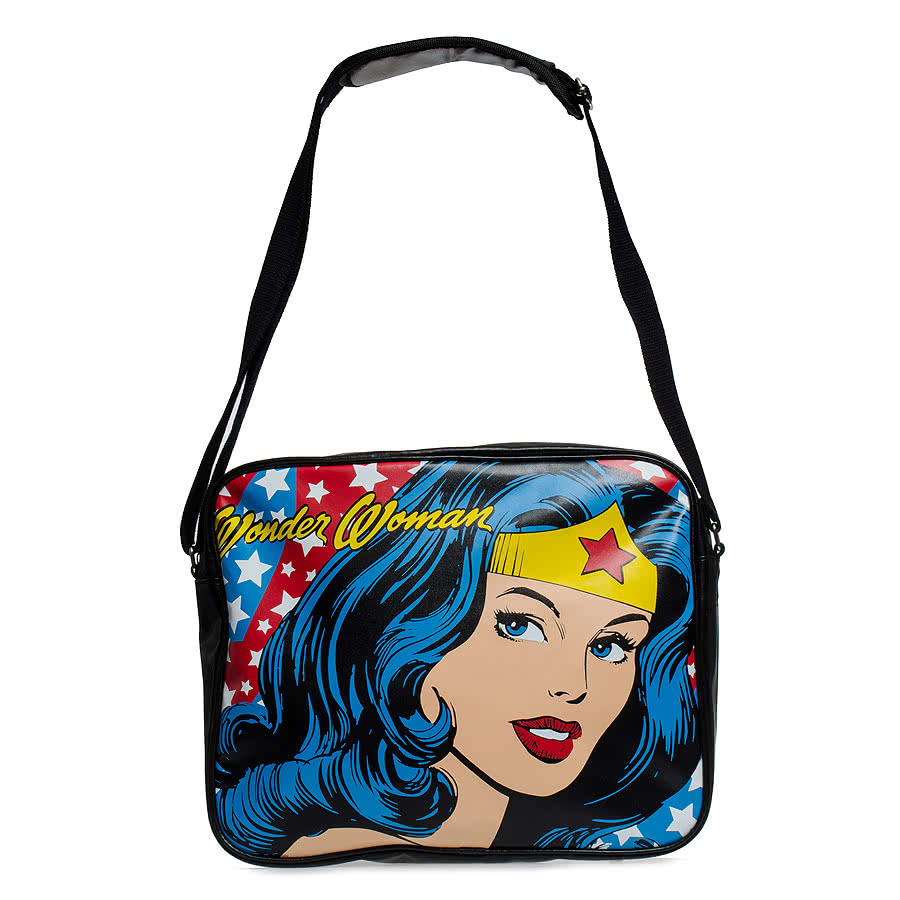 DC Comics Wonder Woman Messenger Bag (Multi-Coloured)