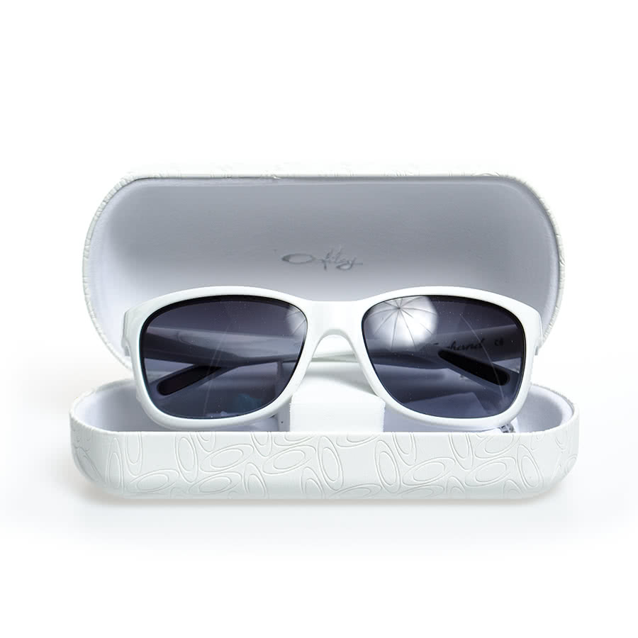 Oakley Forehand Sunglasses (Polished White/Black Grey Gradient)