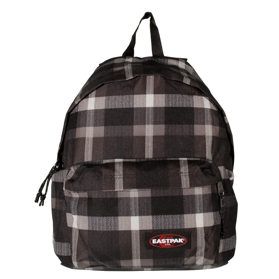 Eastpak Padded Pak'r Check Backpack (Black)