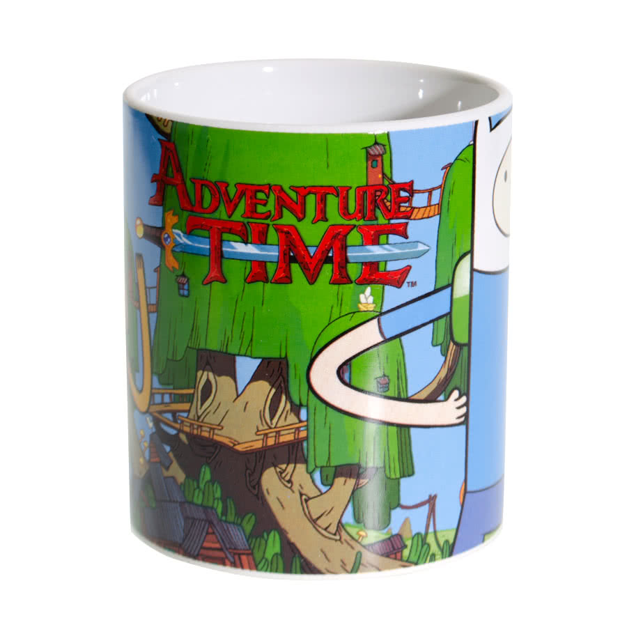 Adventure Time Finn & Jake Mug (Multi-Coloured)