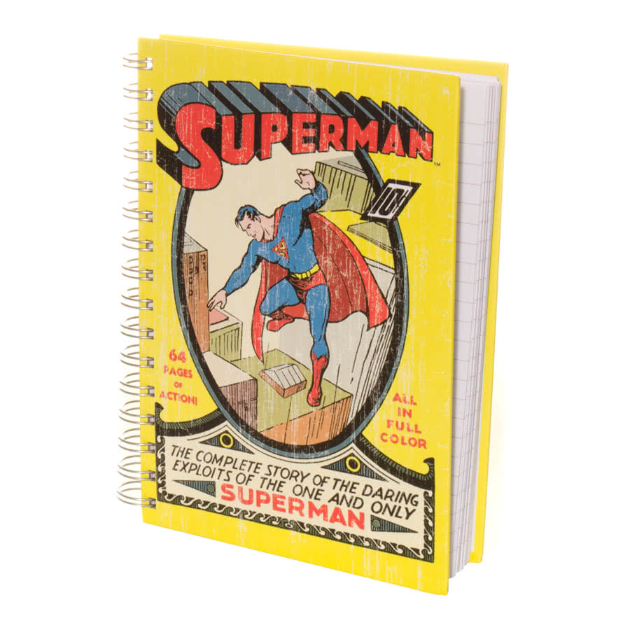 DC Comics Superman A5 Notebook