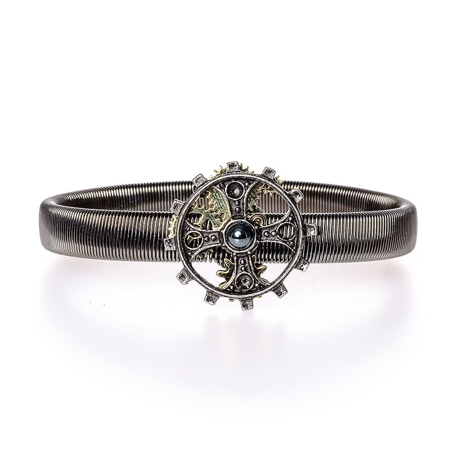 Alchemy Foundryman's Ring Cross Sleeve Band