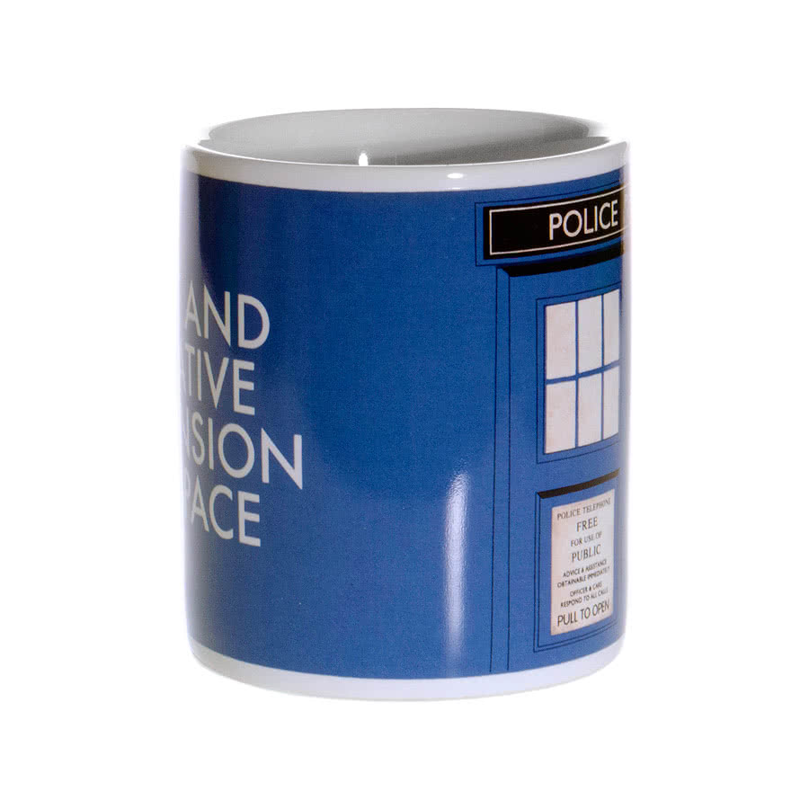 Doctor Who Tardis 50th Mug (Blue)