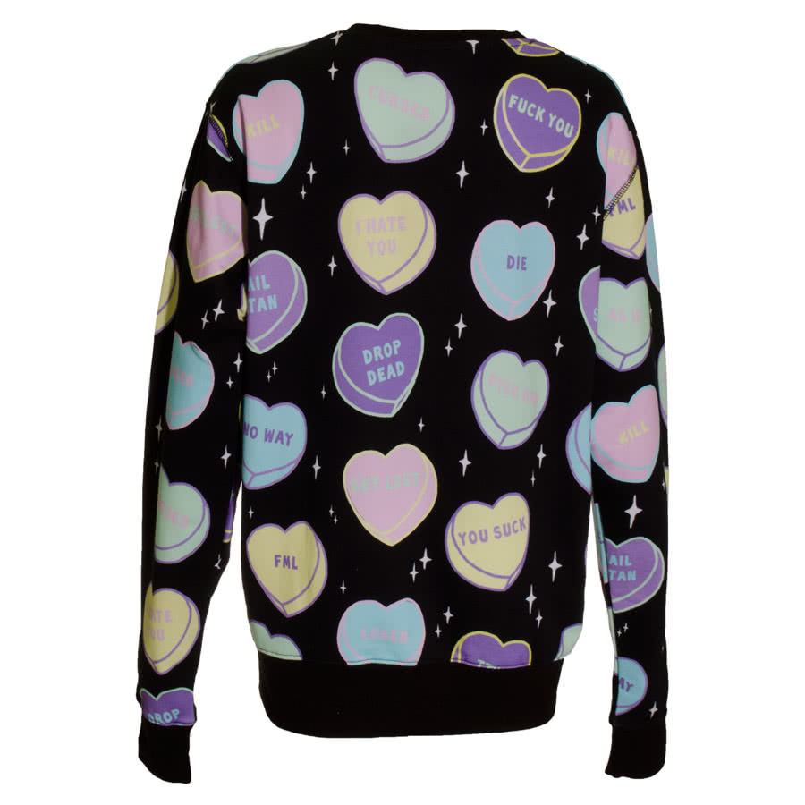 Kill Star No Sweetheart Sweatshirt (Black)