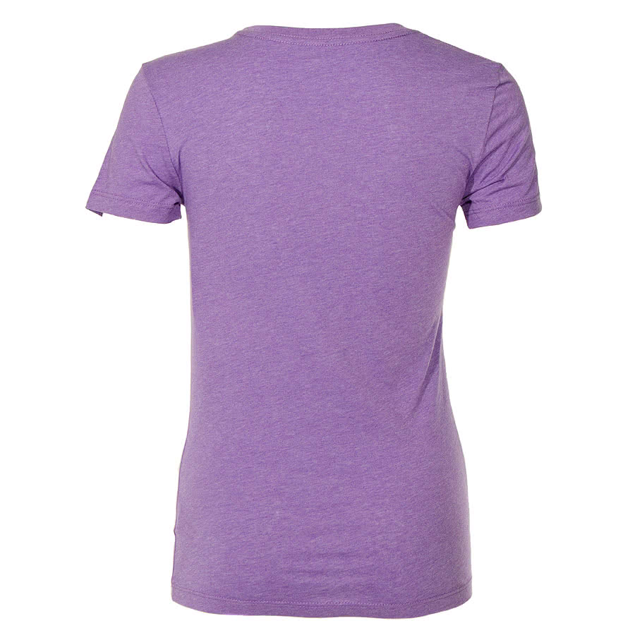 David & Goliath Kitty Mix Skinny Fit T Shirt (Purple)