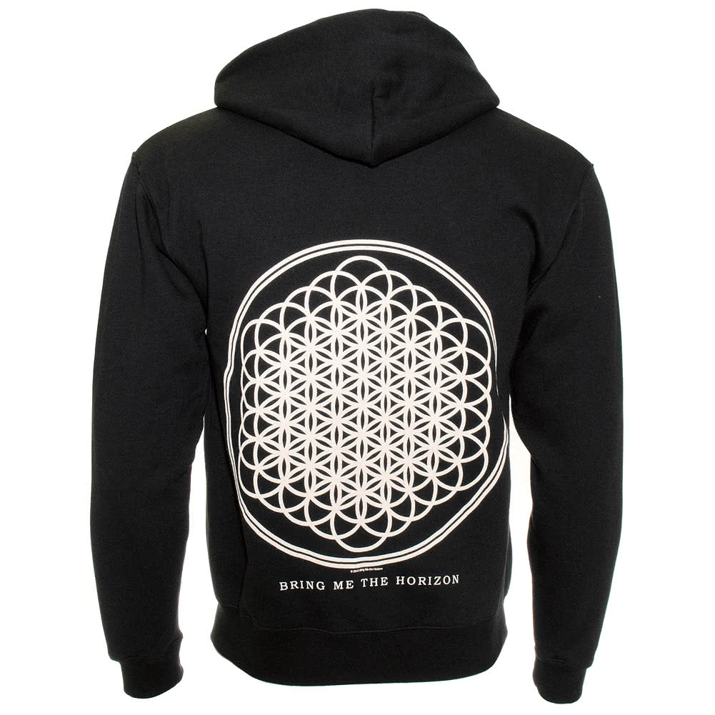Bring Me The Horizon Flower of Life Hoodie (Black)