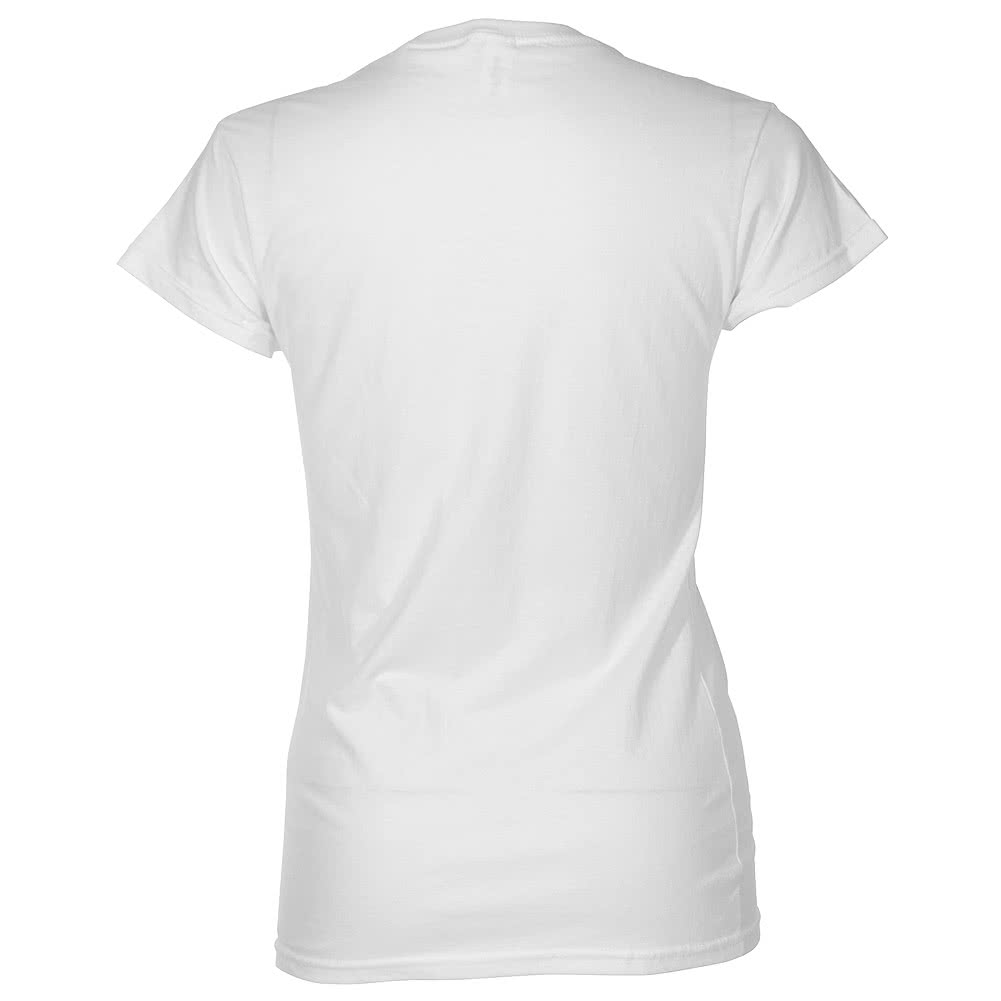 Fall Out Boy Photo Skinny T Shirt (White)