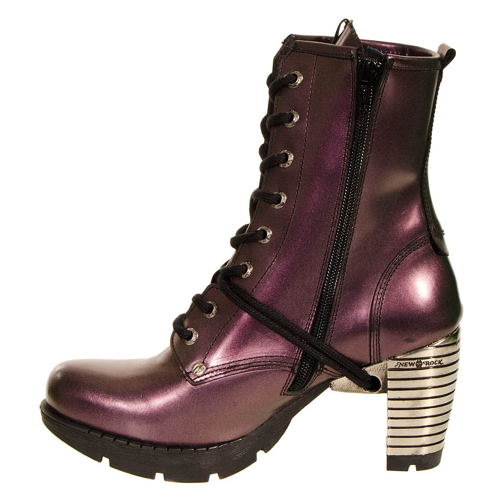 New Rock Boots Style TR001 (Purple)