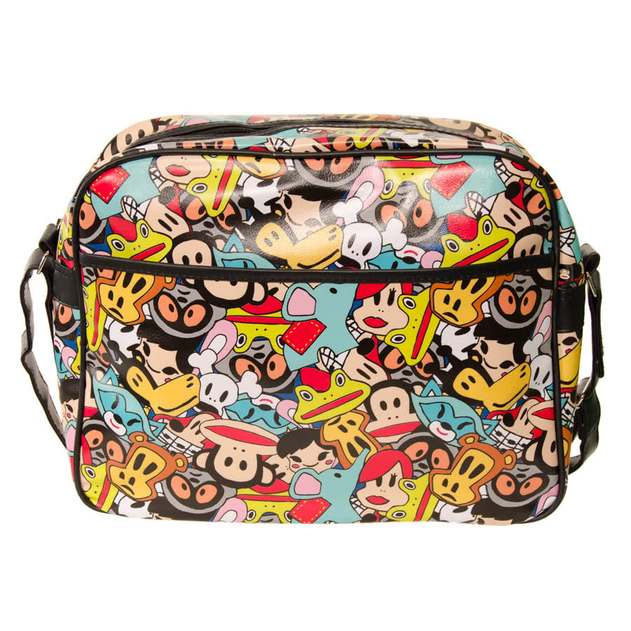 Paul Frank Animals Messenger Bag (Multi-Coloured)