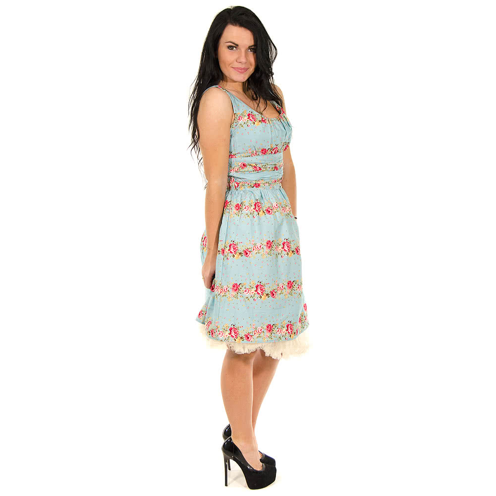 Voodoo Vixen Angie Dress (Blue)