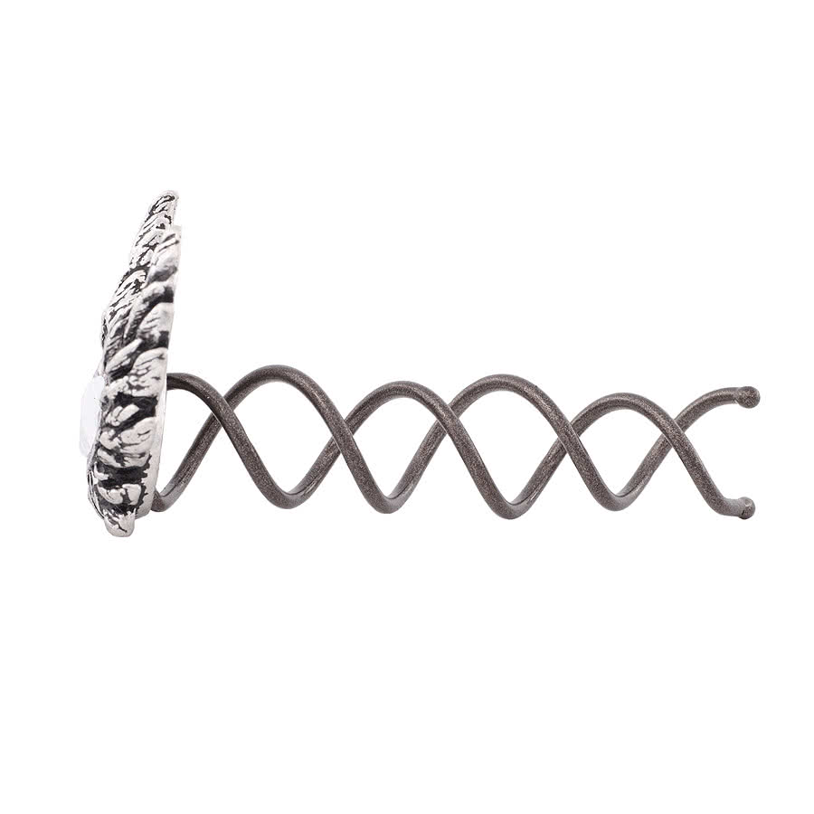 Alchemy Gothic Heart Of An Angel Hair Screw (Silver)