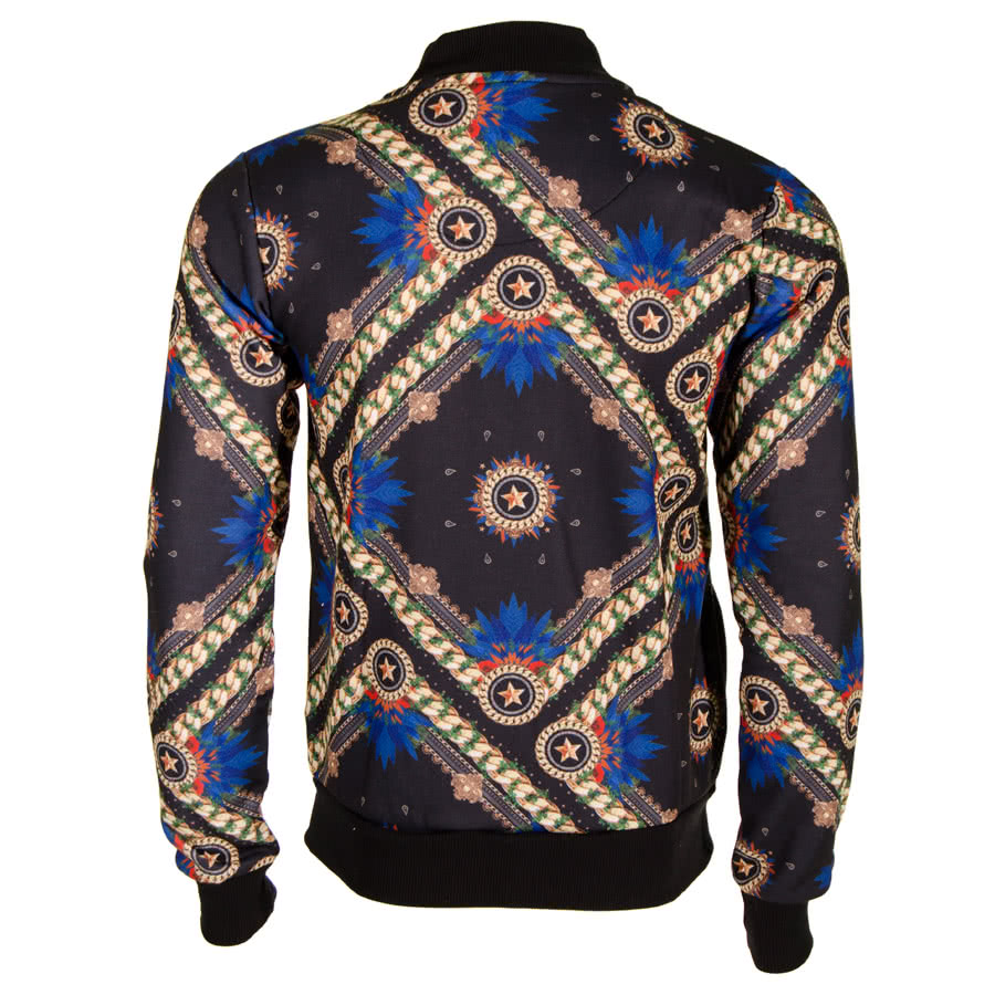 Criminal Damage Croft Bomber Jacket (Black)