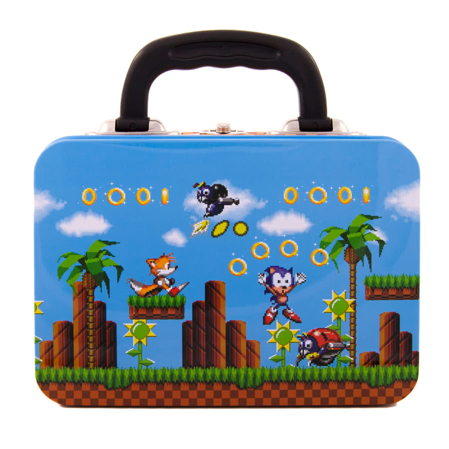 SEGA Sonic Gold Rings Tin Tote
