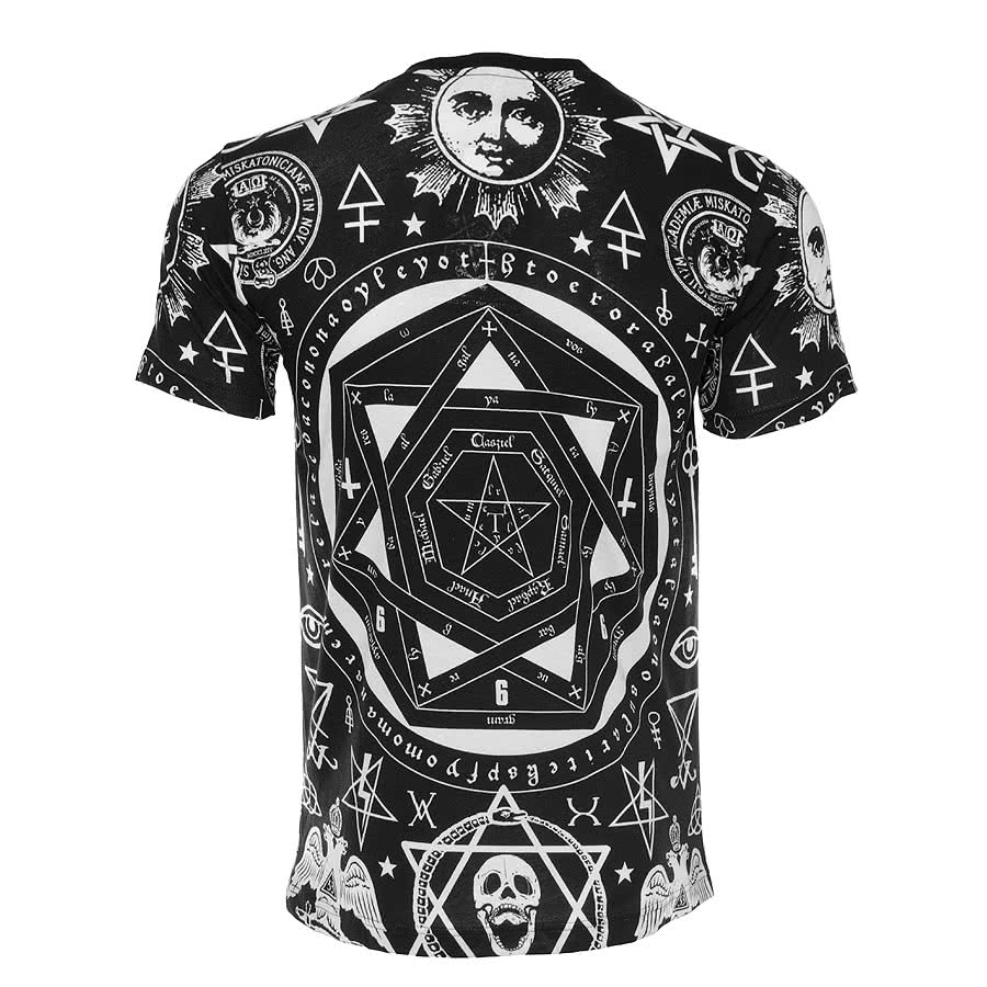 Kill Star Occult T Shirt (Black)